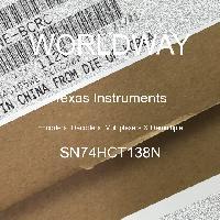 SN74HCT138N - Texas Instruments - エンコーダー、デコーダー、マルチプレクサー、デマルチプレックス