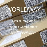LMX393AUA+ - Maxim Integrated Products - 아날로그 비교기