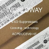 ACPDUC5V0-HF - Comchip Technology - ESD 억 제기