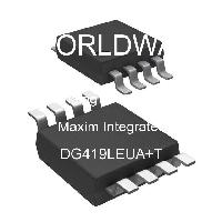 DG419LEUA+T - Maxim Integrated Products