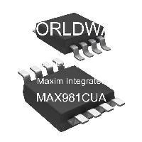MAX981CUA - Maxim Integrated Products