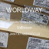 JANTX1N6843CCU3 - Microsemi - ショットキーダイオードおよび整流器