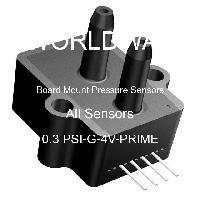 0.3 PSI-G-4V-PRIME - All Sensors - Board Mount Pressure Sensors