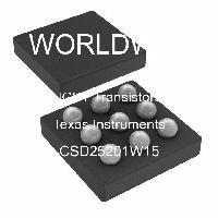 CSD25201W15 - Texas Instruments - IGBTトランジスタ