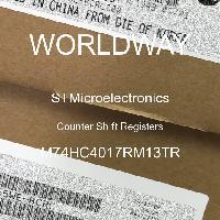 M74HC4017RM13TR - STMicroelectronics - Registros de cambio de contadores