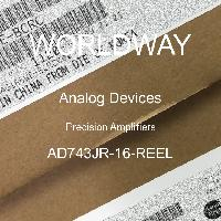 AD743JR-16-REEL - Analog Devices Inc - Precision Amplifiers