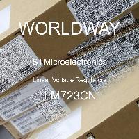 LM723CN - STMicroelectronics - Regulator Tegangan Linier