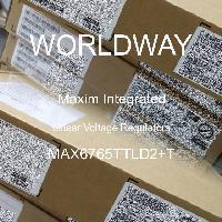 MAX6765TTLD2+T - Maxim Integrated Products - Linear Voltage Regulators