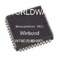 W78E054B40PL - Nuvoton Technology Corp - 마이크로 컨트롤러-MCU
