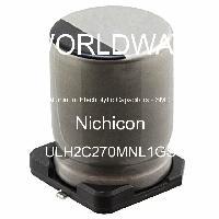 ULH2C270MNL1GS - Nichicon - Aluminum Electrolytic Capacitors - SMD