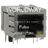 J0006D21BNL - Pulse Electronics Corporation - Conectores modulares / Conectores Ethernet