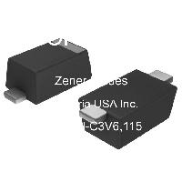 SOD-123F 2 /% 2 Pins 5 X Zener Single Diode 150 °C 3.6 V 375 mW