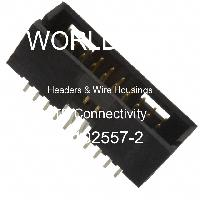 5-102557-2 - TE Connectivity AMP Connectors - Headers & Wire Housings