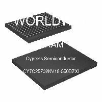 CY7C25702KV18-550BZXI - Cypress Semiconductor