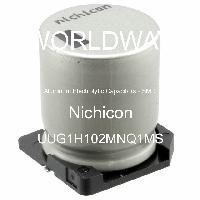 UUG1H102MNQ1MS - Nichicon - Aluminum Electrolytic Capacitors - SMD