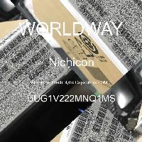 UUG1V222MNQ1MS - Nichicon Corporation - Aluminum Electrolytic Capacitors - SMD