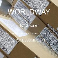 URS1E330MDD1TD - Nichicon - Kapasitor Elektrolit Aluminium - Bertimbel