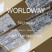 URS1A470MDD1TD - Nichicon - Kapasitor Elektrolit Aluminium - Bertimbel