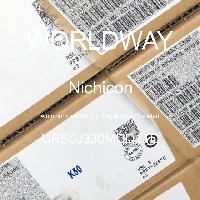 URS0J330MDD1TD - Nichicon - Kapasitor Elektrolit Aluminium - Bertimbel