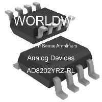 AD8202YRZ-RL - Analog Devices Inc - Current Sense Amplifiers