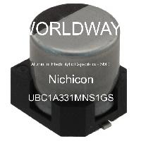 UBC1A331MNS1GS - Nichicon - Aluminum Electrolytic Capacitors - SMD