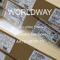 AAT3122ITP-T1 - Skyworks Solutions Inc. - LED Lighting Drivers