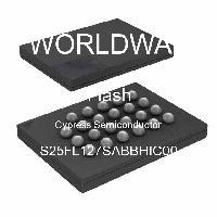 S25FL127SABBHIC00 - Cypress Semiconductor