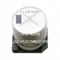 UCD2A331MNQ1MS - Nichicon Corporation - Aluminum Electrolytic Capacitors - SMD
