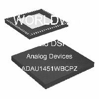 ADAU1451WBCPZ - Analog Devices Inc - DSP de audio