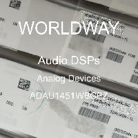 ADAU1451WBCPZ - Analog Devices Inc - DSP de audio