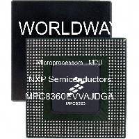 MPC8360EVVAJDGA - NXP Semiconductors - Microprocessors - MPU