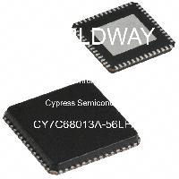 CY7C68013A-56LFXC - Cypress Semiconductor - マイクロコントローラー-MCU