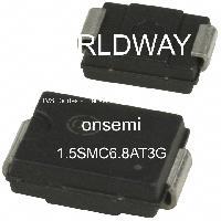 1.5SMC6.8AT3G - Littelfuse Inc - TVS Diodes - Transient Voltage Suppressors