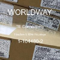 1-104480-2 - TE Connectivity - Headers & Wire Housings