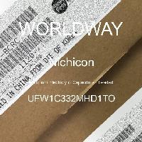 UFW1C332MHD1TO - Nichicon - Kapasitor Elektrolit Aluminium - Bertimbel