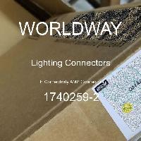 1740259-2 - TE Connectivity AMP Connectors - Konektor Penerangan