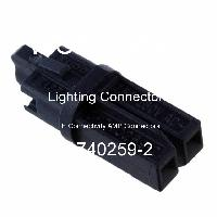 1740259-2 - TE Connectivity AMP Connectors - Lighting Connectors