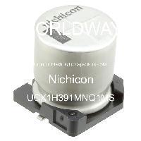 UCX1H391MNQ1MS - Nichicon - Aluminum Electrolytic Capacitors - SMD
