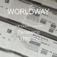 12TPC15M - PANASONIC - Tantalum Capacitors - Polymer SMD
