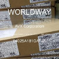 04025A181GAT2A - AVX Corporation - Condensateurs céramique multicouches MLCC - S