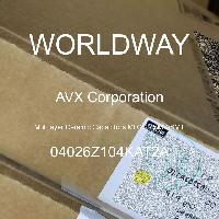 04026Z104KAT2A - AVX Corporation - Multilayer Ceramic Capacitors MLCC - SMD/SMT