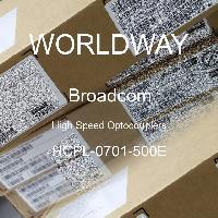 HCPL-0701-500E - Broadcom Limited - Accoppiatori ottici ad alta velocità