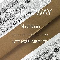 UTT1C221MPD1TD - Nichicon - 铝电解电容器 - 含铅