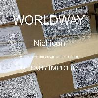 UTT0J471MPD1TD - Nichicon - Kapasitor Elektrolit Aluminium - Bertimbel