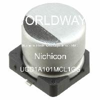 UCD1A101MCL1GS - Nichicon Corporation - Aluminum Electrolytic Capacitors - SMD