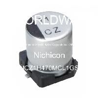 UCZ1H470MCL1GS - Nichicon - Aluminum Electrolytic Capacitors - SMD
