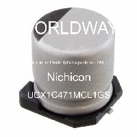 UCX1C471MCL1GS - Nichicon - Aluminum Electrolytic Capacitors - SMD