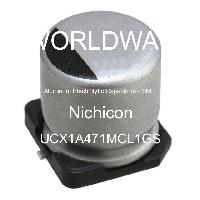 UCX1A471MCL1GS - Nichicon - Aluminum Electrolytic Capacitors - SMD