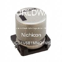 UCD1V681MNQ1MS - Nichicon - Aluminum Electrolytic Capacitors - SMD