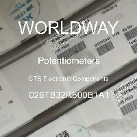 026TB32R500B1A1 - CTS Electronic Components - Potensiometer